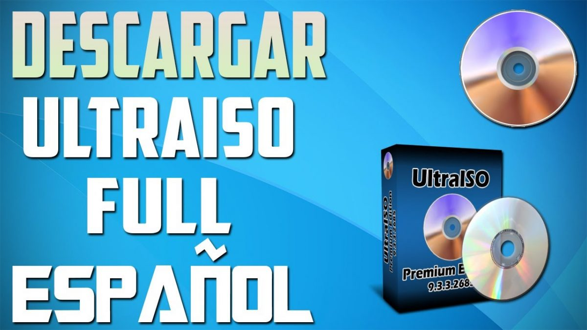 Descargar ultraiso Full GRATIS
